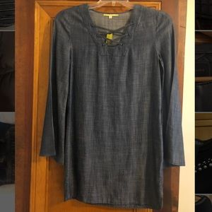Gianni Bini chambray shirt dress.